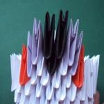 3. sor 4 elem felhasználásával(lila-fekete-fekete-lila)